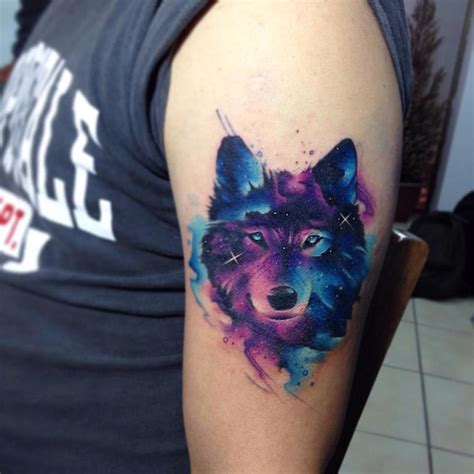 skunk tattoo galaxy style animal tattoos by adrian bascur adventures