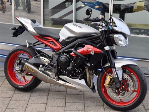 Motorrad Triumph Street Triple by Motorrad Neufahrzeug Kaufen Triumph Street Triple 675 Rx