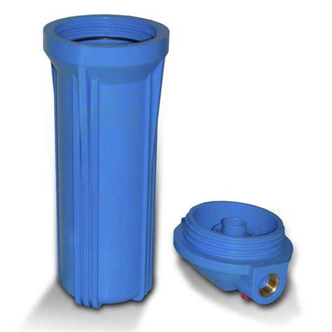 wasserfilter garten 25 4cm 10 zoll wasserfilter geh 228 use blau blau mit 1 quot ig