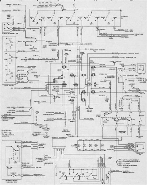 1987 ford f150 fuse wiring diagram ford truck