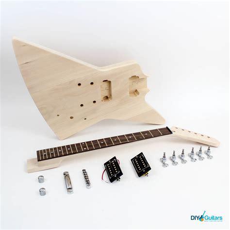diy guitar kit gibson explorer guitar kit diy guitars