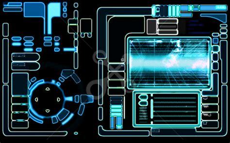 sci fi card frame template sf風uiデザイン basic profile skillots