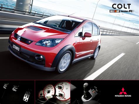 mitsubishi colt ralliart 2006 2006 mitsubishi colt ralliart version r review top speed