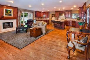 Country Style Sitting Room - arranging living room with open floor plans midcityeast
