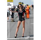 Rob Austin Racing Grid Girl At Snetterton