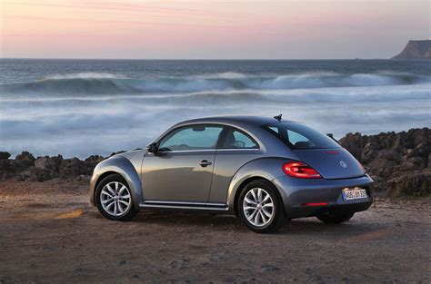 grey volkswagen bug 2012 platinum gray vw beetle rear view eurocar