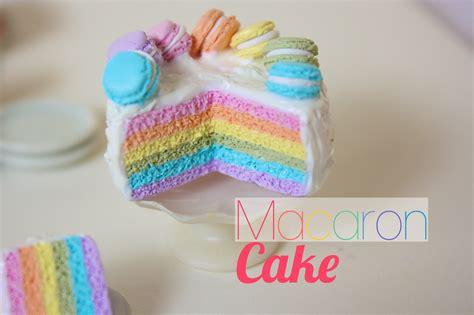 Charm Logam Model Burung Hantu rainbow macaron cake polymer clay tutorial