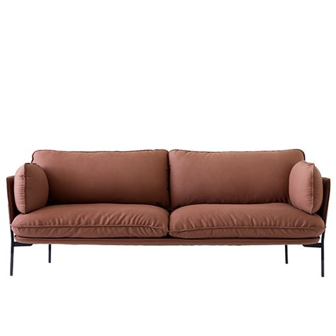 cloud ii sectional tradition cloud three seater sofa steelcut 2 365
