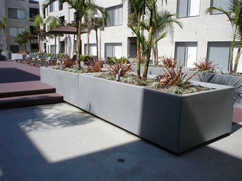 Commercial Planter Pots by Design Ideas For Using Large Pots For Commercial Projects