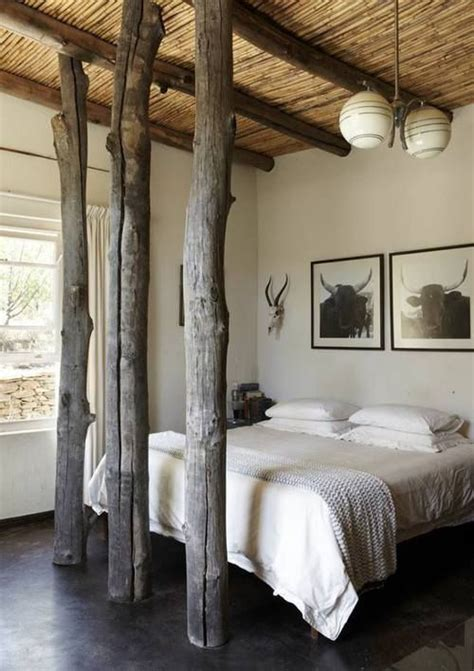bedroom tree rustic bedrooms tree trunks and trunks on pinterest