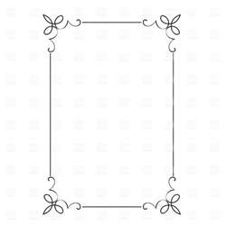 decorative border vector decorative frame 4693 borders and frames