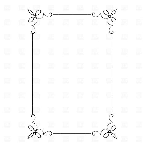 how to create a vector decorative frame in illustrator decorative frame royalty free vector clip art image 4693