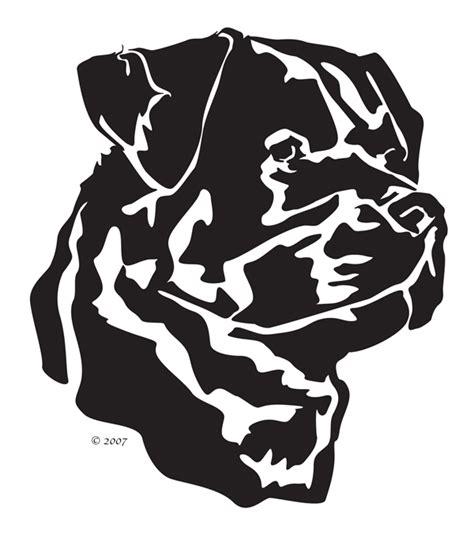 rottweiler silhouette clip rottweiler silhouette clip 27