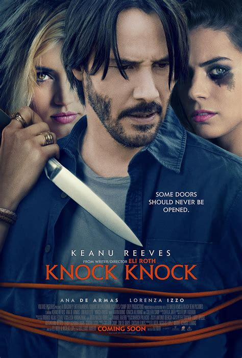 film knock knock knock knock international poster features keanu reeves