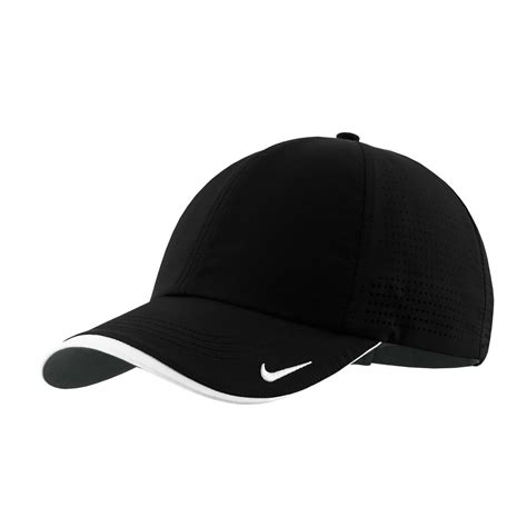 Topi Run Nike Run By Fyglory nike golf dri fit black swoosh perforated cap