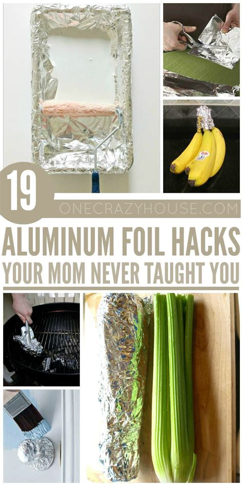household hacks household hacks using aluminum foil that are just