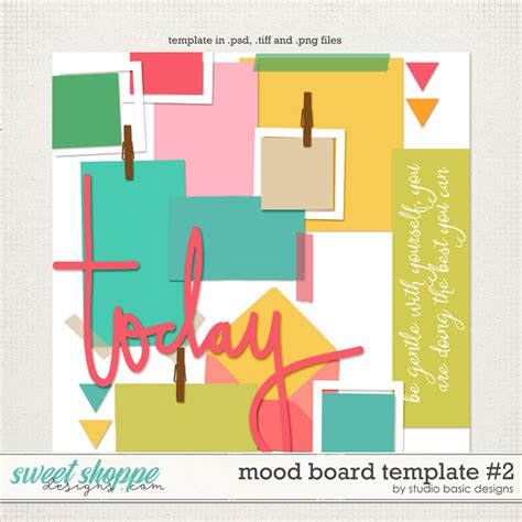 mood board template sweet shoppe designs your memories sweeter