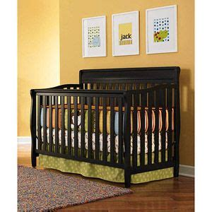 Convertible Crib Walmart Woodworking Projects Plans Graco Stanton Convertible Crib Black
