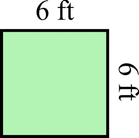 area of a square area versus perimeter a free geometry lesson with a video