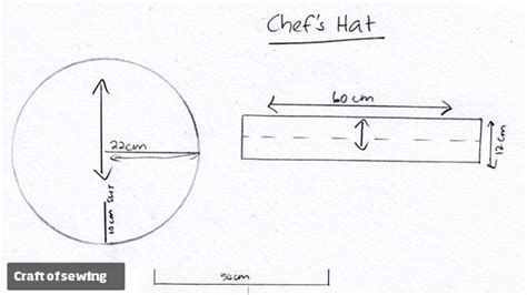 printable chef hat template chefs hat pattern patterns gallery