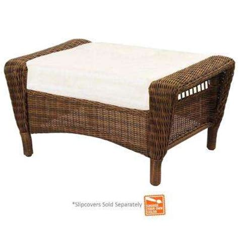 Outdoor Footstools Ottomans Outdoor Ottomans Outdoor Lounge Furniture The Home Depot