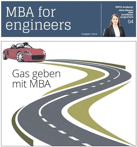 Mit 1 Year Mba by Publikationen Des Vdi Verlags Ingenieur De
