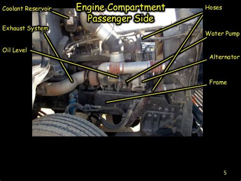 tractor trailer pre trip inspection diagram commercial tractor inspection diagrams commercial trailer