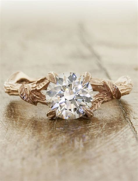 Wedding Ring Nature by Adelia Nature Inspired Engagement Ring Ken