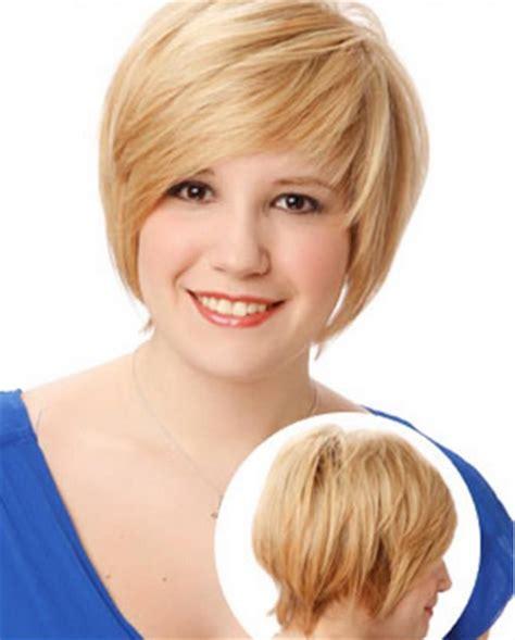 model trend rambut pendek  wanita tubuh gemuk
