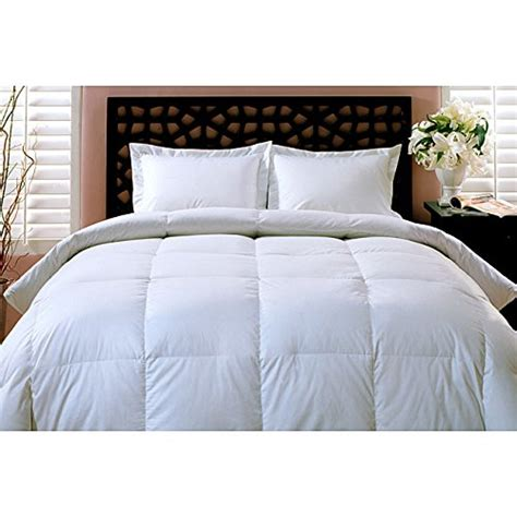 All White Comforters Sets by Luxurious All Year 100 White Goose Comforter Duvet