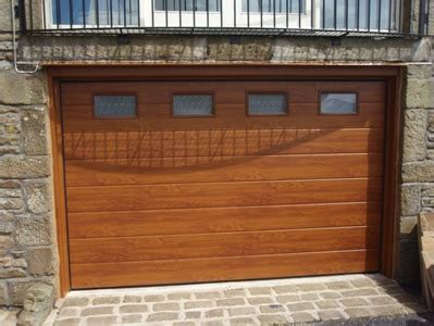Roller Garage Doors Sectional Garage Doors Buy Cheap by Novoferm Large Rib Golden Oak Sectional Garage Door