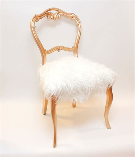 mongolian fur stool cover consider dressing your sofa and chair seats in custom faux