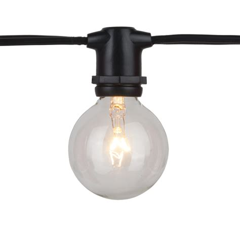 commercial string light commercial grade string lights outdoor black 54