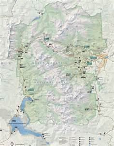 map of rocky mountains rocky mountain national park map