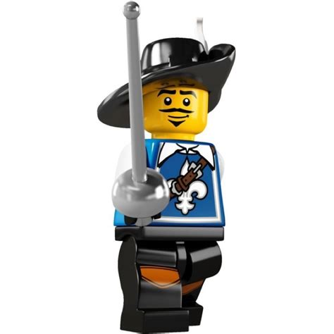 Series 8804 5 Set 3 In 1 lego collectible minifigures 8804 series 4 musketeer new