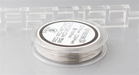R167 Stainless Steel 304 Wire 24 Awg Ss Kawat Coil Not Kanthal For 5 94 authentic mkws 304 stainless steel resistance wire