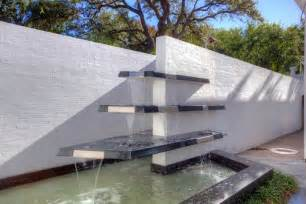 modern water feature modern water features tiered glass fountain