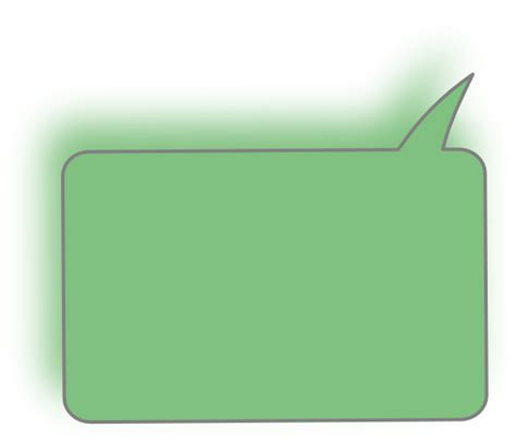 top right light green top right speech bubble clip art at clker com