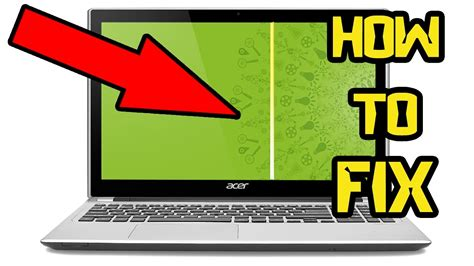 Middle Line Black how to 100 fix vertical lines laptop screen