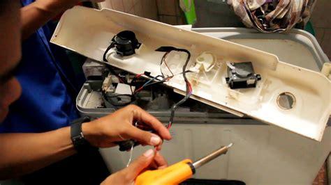 Saklar Timer Mesin Cuci cara ganti timer mesin cuci
