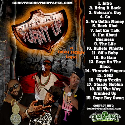 all the way turnt up various artists all the way turnt up vol 1 hosted by