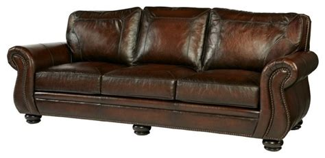 Bernhardt Breckenridge Sofa by Bernhardt Breckenridge Leather Sofa Sofas By Carolina