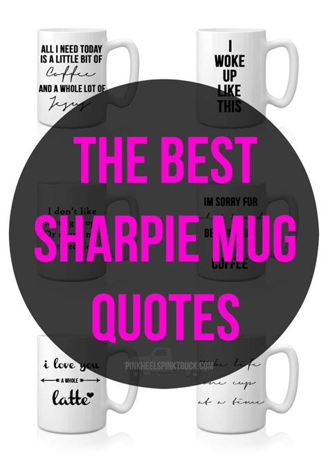 Coffee Mugs For Guys craft the best sharpie mug quotes tutorial taylor