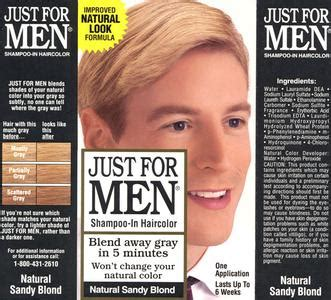 mens hair color products just for
