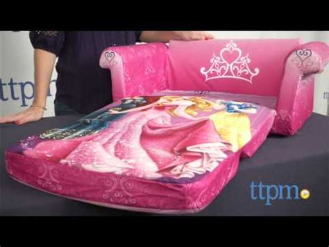 mermaid couch disney princess sofa from spin master youtube