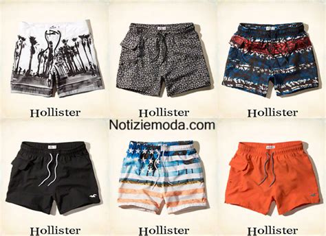 costumi da bagno uomo 2015 moda mare hollister estate 2015 costumi da bagno shorts uomo