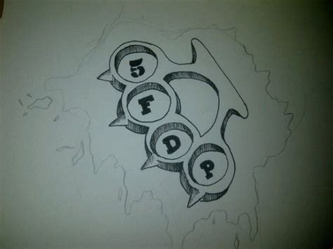five finger death punch tattoo designs five finger punch tank design by scribbles13 on
