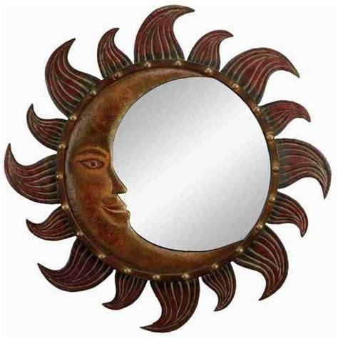 metal moon tattoo metal sun moon mirror wall decor for the home