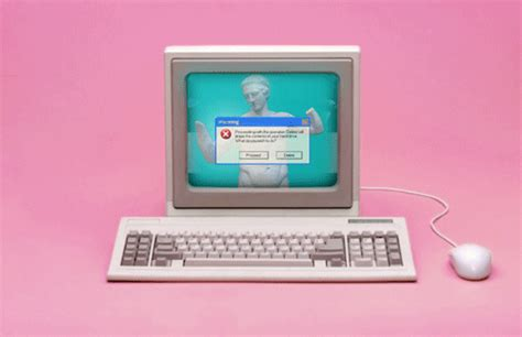 old computer themes tumblr 90s computer gif find share on giphy