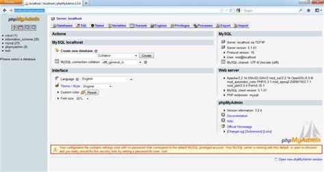 tutorial membuat blog di localhost menggunakan xp tutorial komputer membuat database dan tabel dengan